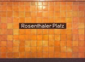 Claudio Galamini, U-Bahnhof Rosenthaler Platz (Deutschland, Europa)