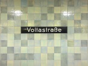 Claudio Galamini, U-Bahnhof Voltastraße (Deutschland, Europa)