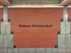 Claudio Galamini, U-Bahnhof Rathaus Reinickendorf (Deutschland, Europa)