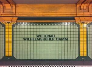 Claudio Galamini, U-Bahnhof Wittenau Wihelmsruher Damm (Deutschland, Europa)