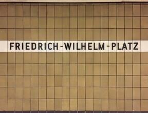 Claudio Galamini, U-Bahnhof Friedrich-Wilhelm-Platz (Deutschland, Europa)