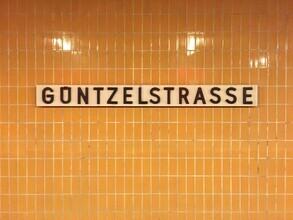 Claudio Galamini, U-Bahnhof Güntzelstrasse (Deutschland, Europa)