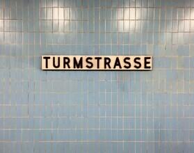 Claudio Galamini, U-Bahnhof Turmstrasse (Deutschland, Europa)