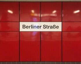 Claudio Galamini, U-Bahnhof Berliner Straße (Deutschland, Europa)