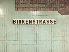 Claudio Galamini, U-Bahnhof Birkenstrasse (Deutschland, Europa)