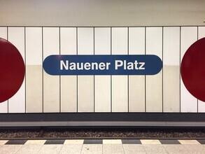 Claudio Galamini, U-Bahnhof Nauener Platz (Deutschland, Europa)