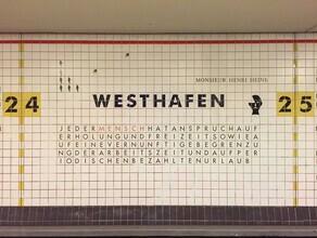 Claudio Galamini, U-Bahnhof Westhafen (Deutschland, Europa)