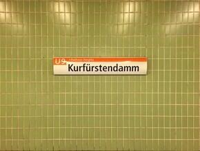 Claudio Galamini, U-Bahnhof Kurfüstendamm (Deutschland, Europa)