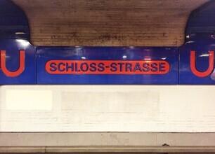 Claudio Galamini, U-Bahnhof Schloss-Strasse (Deutschland, Europa)