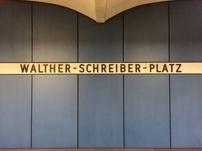 Claudio Galamini, U-Bahnhof Walther-Schreiber-Platz (Deutschland, Europa)