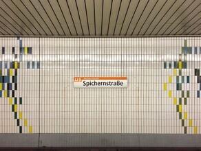 Claudio Galamini, U-Bahnhof Spichernstraße (Deutschland, Europa)