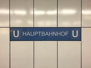 Claudio Galamini, U-Bahnhof Hauptbahnhof (Deutschland, Europa)