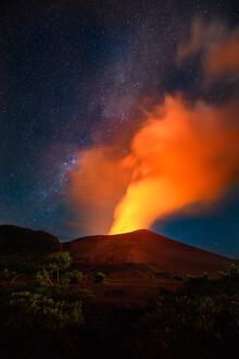 Kristof Göttling, Eruption (Vanuatu, Oceania)