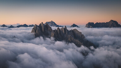 Philipp Heigel, BLUE HOUR IN THE DOLOMITES. (Italien, Europa)