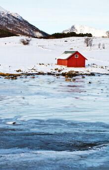 Victoria Knobloch, Auf der Insel Engeløya (Norwegen, Europa)