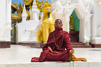 Miro May, Shwedagon Pagode (Myanmar, Asien)