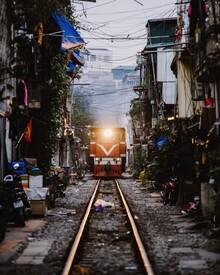 André Alexander, Train ride (Vietnam, Asia)