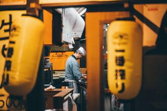 André Alexander, Street food Tokyo (Japan, Asien)
