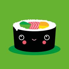 Pia Kolle, Sushi Maki – Illustration für's Kinderzimmer (Deutschland, Europa)