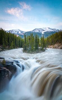 Christoph Schaarschmidt, sunwapta falls (Kanada, Nordamerika)