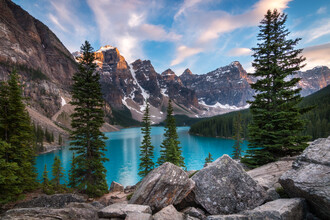 Christoph Schaarschmidt, moraine lake (Kanada, Nordamerika)