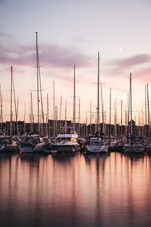 Felix Dorn, Segelschiffe im Hafen von Stralsund (Deutschland, Europa)