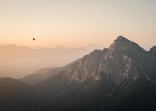 Felix Dorn, Heißluftballon bei Sonnenaufgang (Österreich, Europa)