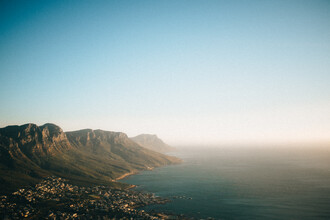 Marco Leiter, Cape Town at Sunset (View from Lions Head Mountain) (South Africa, Africa)