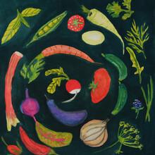 Anita Letuve, Veggies from My Garden (Netherlands, Europe)
