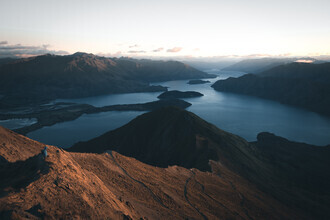 Misty Mountains - fotokunst von Philipp Pablitschko