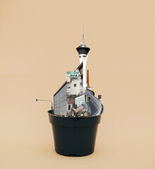 flowerpot life 1 - fotokunst von Marko Köppe