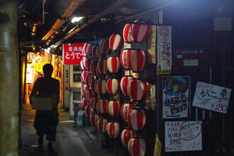 Gaspard Walter, Underground alley in Yurakucho Tokyo (Japan, Asien)