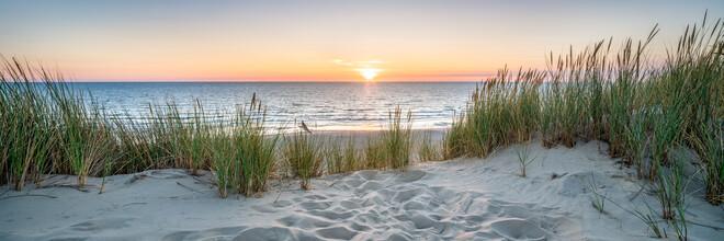 Jan Becke, Sunset at the dunes beach (Germany, Europe)