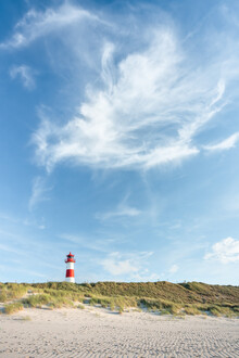 Jan Becke, Leuchtturm List Ost auf Sylt (Deutschland, Europa)