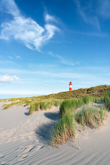 Jan Becke, Lighthouse List Ost on the island of Sylt (Germany, Europe)