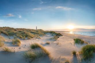 Jan Becke, Sonnenuntergang an der Nordseeküste auf Sylt (Deutschland, Europa)