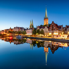 Jan Becke, Hanseatic city of Lübeck (Germany, Europe)