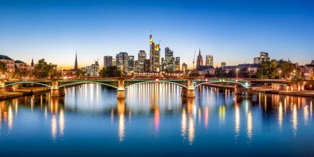 Jan Becke, Skyline von Frankfurt am Main (Deutschland, Europa)