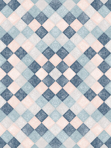 Sasha Lend, Blue Pink Green Grey - pattern (Russia, Europe)