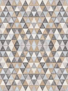 Sasha Lend, Gold Grey Black - pattern (Rwanda, Africa)
