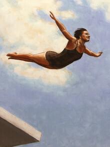 Sarah Morrissette, Diver in the Air (Syria, Asia)