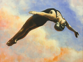 Sarah Morrissette, Diver in the Clouds (Austria, Europe)