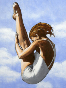 Sarah Morrissette, Turmspringerin ohne Kappe (Österreich, Europa)