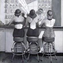 Sarah Morrissette, Drei Frauen an der Bar (Österreich, Europa)