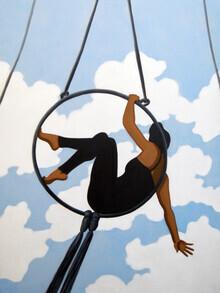 Sarah Morrissette, Trapeze artist (Austria, Europe)