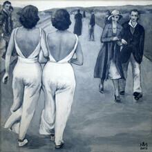 Sarah Morrissette, Two Women in White (Austria, Europe)