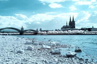 Darius Ortmann, Köln Stadtansicht IR (Deutschland, Europa)
