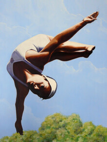 Sarah Morrissette, Diver Above the Treetops III (Österreich, Europa)