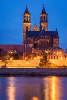 Martin Wasilewski, Abend in Magdeburg (Deutschland, Europa)