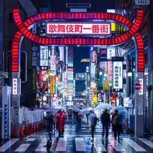 Jan Becke, Nachtleben in Tokyo (Japan, Asien)